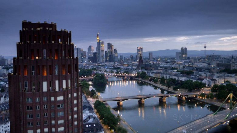 Frankfurt Aerials with our Drone