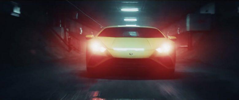 FPV Drone Action for Lamborghini