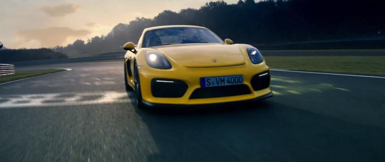 Nürburgring Aerials – Porsche Cayman GT4 Spot