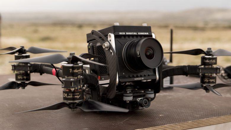 RED Komodo FPV Drone Racer TVC shoot in Croatia
