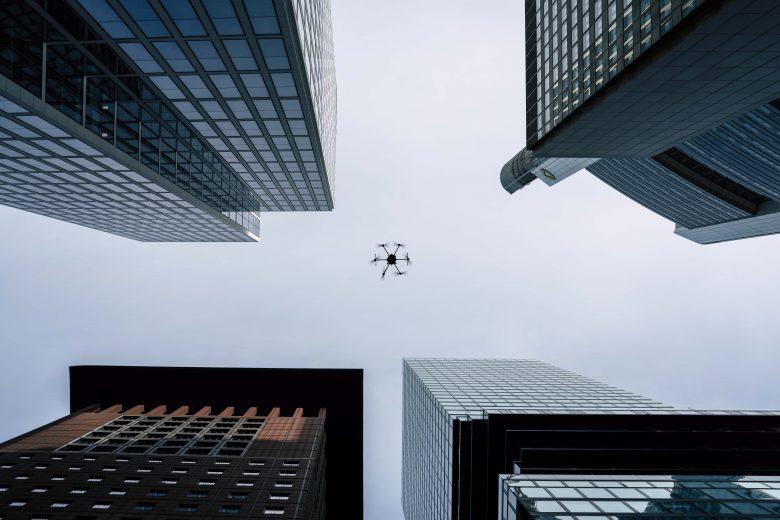 Porter Heavy Lifter Drone Shoot in Frankfurt
