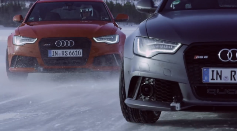 Audi Quattro Ice Track Challenges in Sweden